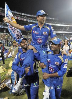 Mumbai Indians gave Sachin Tendulkar a fitting farewell by winning the Champions League T20 trophy. View gallery: http://tnie.in/GGHuHM