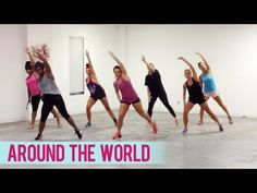 Natalie La Rose - Around The World ft. Fetty Wap (Dance Fitness with Jessica) - YouTube