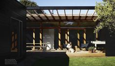 the fricking porch.  // shareen joel's weekender // homelife australia