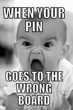 Every #Pintrest #SEO ninja's expressions like this when their pin goes to the wrong board. #WeekendFun #SaturdayFun  #WEbDevelopment #Traffic #Responsive  #SocialMedia #internetMarketring Get in touch with us FB https://www.facebook.com/Websitedesignworldwide twitter  https://twitter.com/skynetindia