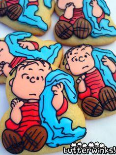 Linus Peanuts Cookies