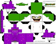 Joker cubee (update) by MysterMDD on deviantART