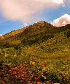 Kinlochleven, Near Glencoe, Scottish Highlands.