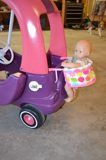 DIY Cozy Coupe Makeover   DIY for Life