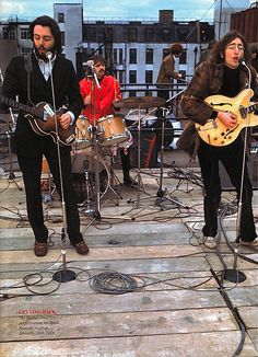 Último concierto en vivo de The Beatles