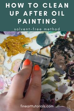 It's possible to clean your oil painting materials and keep them in perfect condition without using solvent. Keep your workspace free of solvent fumes with this easy solvent-free cleaning method. #oilpainting #art #howtocleanoilpaint #howtocleanoilpaintingmaterials #oilpaintingcleanup #oilpaintingsolventfree #oilpaint #oilpainter #oilpaints #howtooilpaint #oilpaintingbeginner #arttutorials