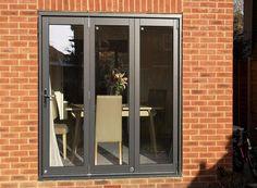 External Bifold Doors, Wooden Bifold Doors, Replacement Patio Doors, Old French Doors, Steel Doors, Back Doors, Tiny House, New Homes, Windows