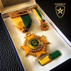 Medalla Gobernación de Nariño. Colombia.