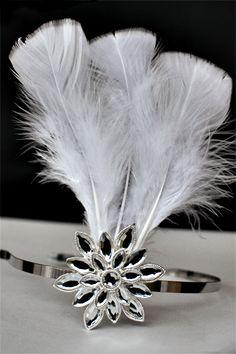 DIY Feather Headband Fascinator #toristyle