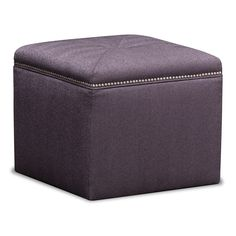 Accent and Occasional Furniture - Ritz Cube Ottoman Value City Furniture, Furniture Decor, Ottoman Furniture, Bedroom Ottoman, Small Living Room Furniture, Dining Room Inspiration, Stores, Decoration, Accent Decor