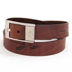 Florida State Seminoles NCAA Brandish Leather Belt Size 44