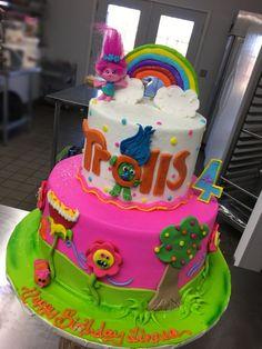 Trolls cake: