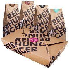 REISHUNGER Vollwert Box - gesunder Bio-Vollkornreis in einer (Geschenk)-Box #reishunger #vollwertbox #vollkornbasmati #schwarzerreis #roterreis #naturreis #gift #set