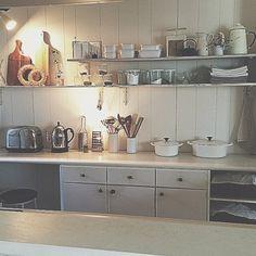 WECK/チーズスライサー/みせる収納/キッチン収納/照明/DIY…などのインテリア実例 - 2014-08-02 03:03:30 | RoomClip(ルームクリップ)