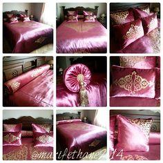 Nezaket Tan Delibekirogulları @marifethane2014 #yatakodasi#yatak...Instagram photo | Websta (Webstagram) Bed Covers, Cushion Covers, Linen Bedding, Bedding Sets, Islamic Decor, Cushions, Pillows, Vintage Shabby Chic, Bed Spreads