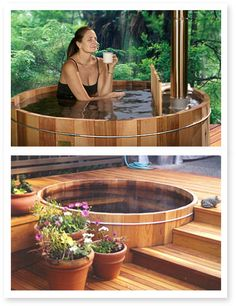 I would LOVE to get one of these hot tubs!
