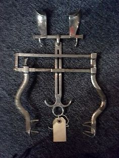 WTH was supposed to be helped by stretching someone's ribs with such a torture device? Medical Photos, Mental Asylum, Psychiatric Hospital, Abandoned Hospital, Mental Health Care, Instruments, Medical History, Creepy, Scary