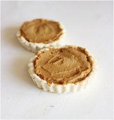 Raw pumpkin pies