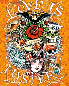 Ed Hardy~ Love is Mystery
