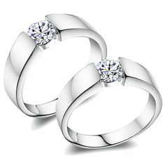 love this with a diamond band on either side ;)