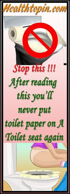 STOP PUTTING TOILET PAPER DOWN ON PUBLIC TOILET SEATS IMMEDIATELY! READ HERE WHY! #health #carefull #skin #effect
