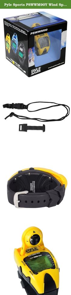 Pyle Sports PSWWM90Y Wind Speed Meter w/ Wind Chill Temp., Altimeter, Barometer, Compass, 10 Laps Chronograph Memory, Yacht Timer (Yellow Color). The PSWWM90 watch from Pyle does a whole lot - including measure the wind speed in both kilometers per hour and on the Beaufort wind scale, so it's perfect for sailing and boating enthusiasts. It's also equipped with a high-resolution altimeter, barometer, compass, yacht timer, and chronograph. EL backlight lets you read the watch day or night...