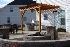 #26 Outdoor Entertainment Area | CKJ Building and Design