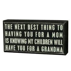 ThanksNew Grandma Gift awesome pin