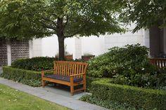 InterContinental Dublin's inner courtyard garden