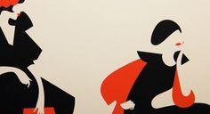 La Promenade 40 Limited edition screenprints 100x35 cm, printed on Somerset Satin.