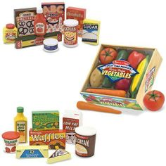 Best gift idea Melissa & Doug Wooden Fridge Food Set, Pantry Products, and Playtime Veggies SALE - http://www.buyinexpensivebestcheap.com/41156/best-gift-idea-melissa-doug-wooden-fridge-food-set-pantry-products-and-playtime-veggies-sale/?utm_source=PN&utm_medium=marketingfromhome777%40gmail.com&utm_campaign=SNAP%2Bfrom%2BOnline+Shopping+-+The+Best+Deals%2C+Bargains+and+Offers+to+Save+You+Money   2 to 4 Years, Educational Toys, Gifts For 2 Year Olds, Gifts For 3 Year Olds, Gi