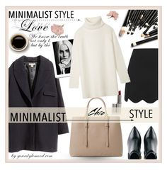 """""""Minimalist outfit"""" by fashionlovestory ❤ liked on Polyvore featuring MANGO, Kim Kwang, H&M, Topshop, Tory Burch and Minimaliststyle"""