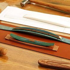 손잡이 심재 만들기 2 #서류가방 #베로 #VERO #leathercraft #vero #가죽공예 #가죽공방 #가방만들기