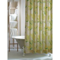 Is your mother a bathing beauty? Shower her with love, and our new organic Shower Curtains!