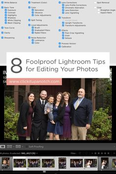 """These tips are a MUST for speedy editing in Lightroom! Read - """"8 Foolproof Lightroom Tips for Editing Your Photos"""""""