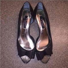 Nina New York, sz 8.5 heels Only worn a couple of times. No sign of wear. Perfect condition. 2 inch heels. Nina New York Shoes Heels