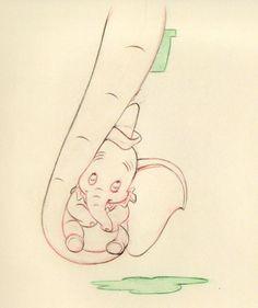 dumbo cartoon   Dumbo Sketch Classic Disney Fan Art 10113145 Fanpop Fanclubs