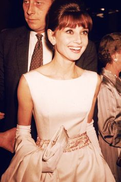 October 19th 1961, Audrey Hepburn attending the charity premiere of Breakfast at Tiffany's in London.