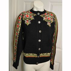 Vintage 1970s Norwegian Wool Sweater by listitcafe on Etsy, $58.00