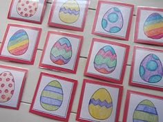 A few great EGG activities/games for kids