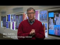 Bill Gates' video welcoming the new CEO is a perfect example of how effective short, simple videos can be.