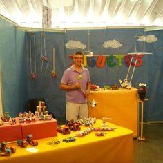 Participante: Daniel Boianelli, Juguetero, Tenerife. II Feria Tricontinental de Artesanía.