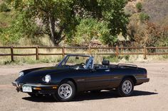 This 1986 Alfa Romeo Spider Veloce is a solid driver with 86k miles. Recent work includes a new thermostat, coolant flush, engine and transmission mounts, center ball joint links, and left rear wheel bearing. The car comes with records from new along with an authentication letter, clean Carfax repor