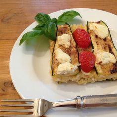Zucchini Rice Gratin Recipe #WeekdaySupper
