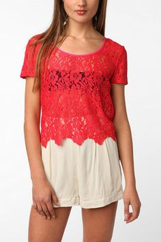 Lucca Couture Lace Blouse