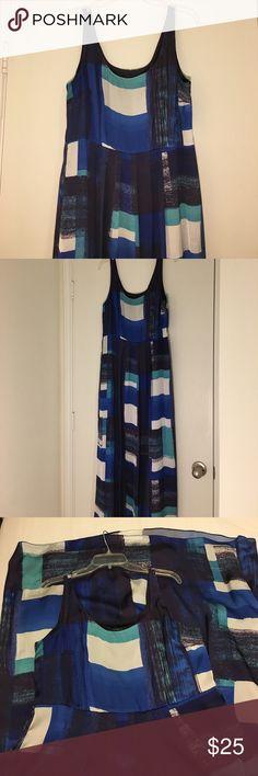 Ann Taylor Maxi Dress Art Stripes Tank Maxi Dress Ann Taylor Dresses Maxi