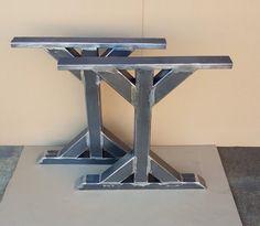 Trestle Table Legs, Heavy duty, Sturdy Metal Legs, Industrial Legs, Dining Table Leg Set