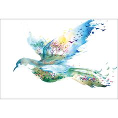Dove of Peace Canvas by Art Illusions. Get it now or find more All Wall Art at Temple & Webster.