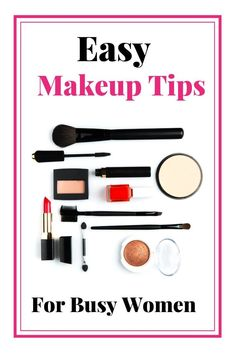 Easy makeup tips for beginners!. Watch makeup tutorials and get Pro Makeup Artist secrets to help you look and feel your best. #makeuptips #makeup #easymakeuptips #makeuptipsforbeginnners