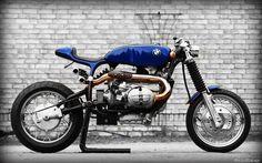 pinterest.com/fra411 #classic #motorbike - RocketGarage Cafe Racer: Kafe Bmw